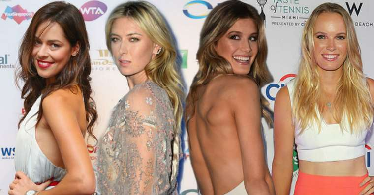 Top 10 Most Beautiful Female Tennis Players 2021