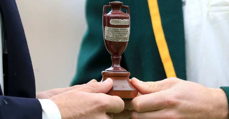 What are the ashes in the Ashes Trophy?
