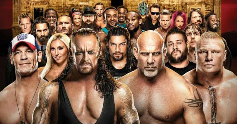 Spoznáte wrestlerov WWE podľa obrázku?