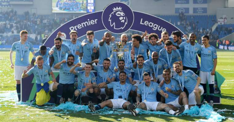 English Premier League Winners till 2020