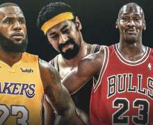 Top 10 Greatest Basketball Players In NBA 50th Anniversary Team