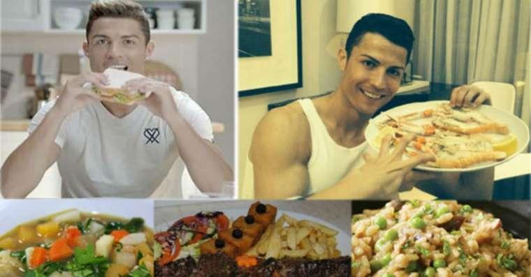 Cristiano Ronaldo Favorite Food And Meals
