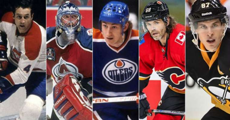 Top 10 Greatest NHL Players of All Time
