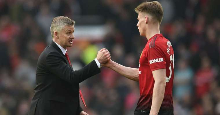Scott McTominay reveals the most recent tips that he received from the Manchester United manager Ole Gunnar Solskjaer