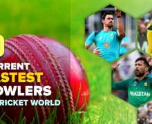 Top 10 Current Fastest Bowlers in Cricket World
