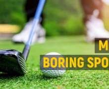 The 10 Most Boring Sports Ever To Play Or Watch
