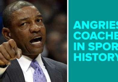 Top 10 Angriest Coaches In Sports History