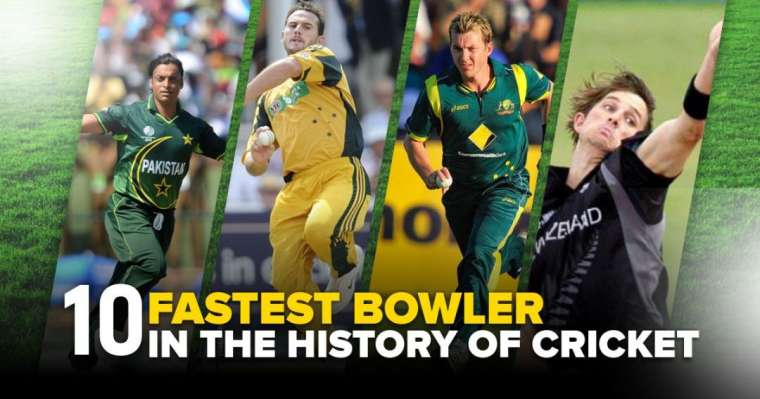 Top 10 Fastest Bowlers in The History of Cricket [Updated 2021]