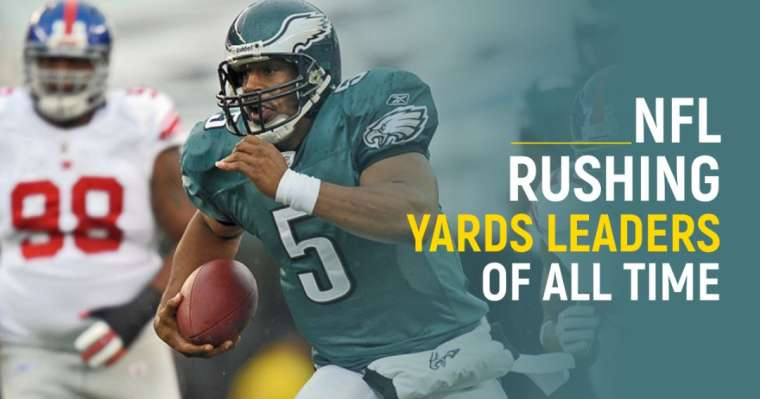 Top 10 NFL Rushing Yards Leaders Of All Time
