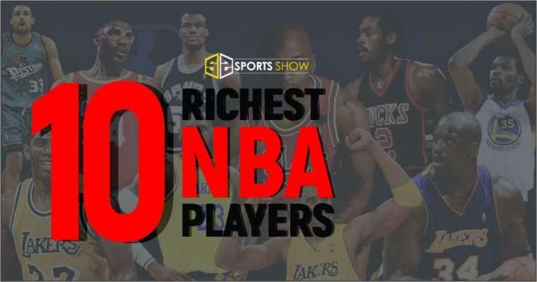 Top 10 Richest NBA Players 2021