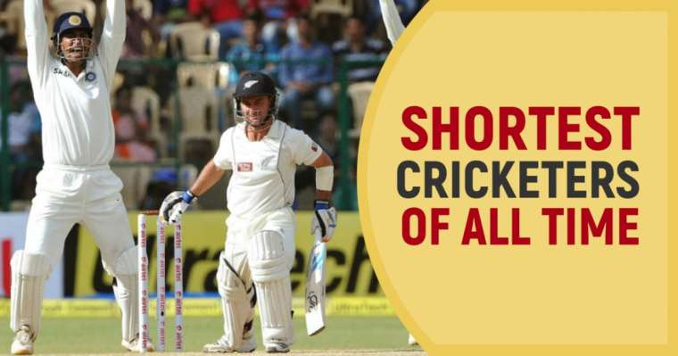 Top 10 Shortest Cricketers Of All Time