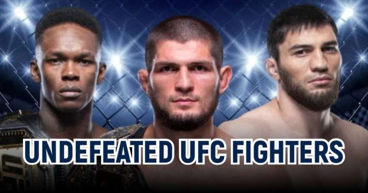 Top 10 Undefeated UFC fighters Of All Time