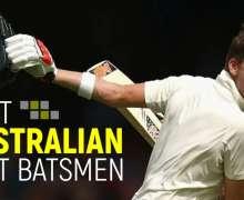 10 Best Australian Test Batsmen In Cricket History