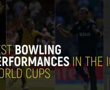 Top 10 Best Bowling Performances In The ICC World Cups | All-Time Ranking