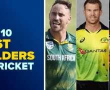 Top 10 Best Fielders In Cricket History | 2021 Updated Ranking