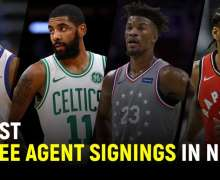 Top 10 Best Free Agent Signings In The NBA | 2021 Updates