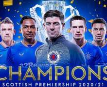 Football:  How Rangers have made it to the top and will dominate the Premier League
