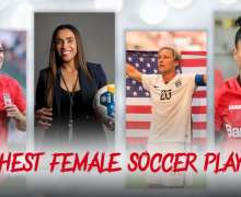 Top 10 Richest Female Soccer Players In 2021 | Football Money List