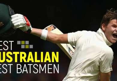 Top 10 Best Australian Test Batsmen In Cricket History