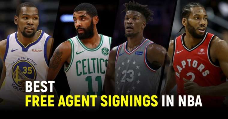 Top 10 Best Free Agent Signings In The NBA   2021 Updates