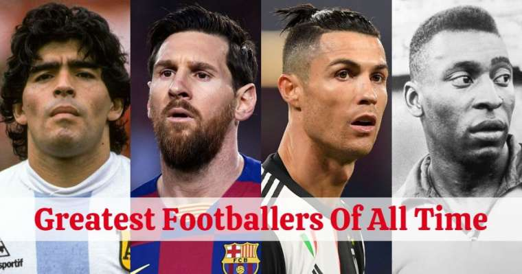 Top 10 Greatest Soccer Players | All Time Best Footballers