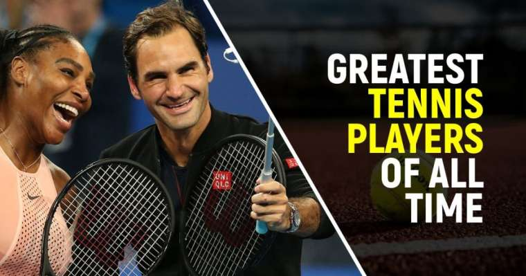 Top 10 Greatest Tennis Players of All Time | ATP Legends
