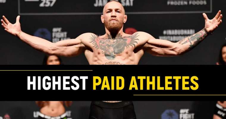 Top 10 Highest Paid Athletes In The World Right Now