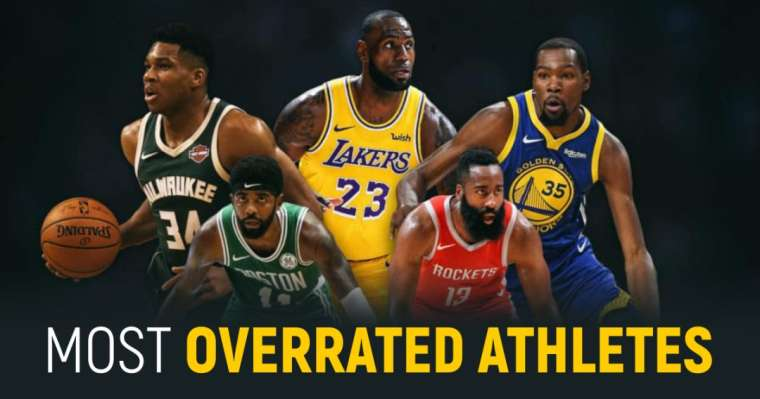 10 Most Overrated Athletes Of All Time