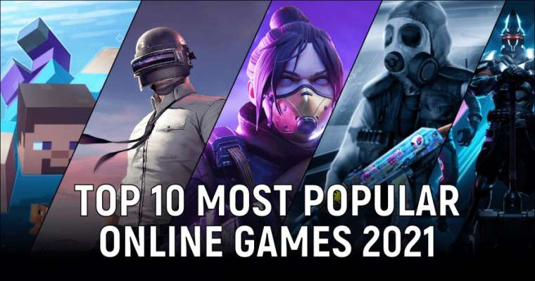 Top 10 Most Popular Online Games 2021 | Updated Ranking