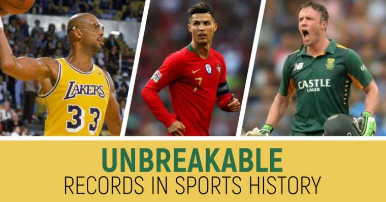 Top 10 Unbreakable Records In Sports History