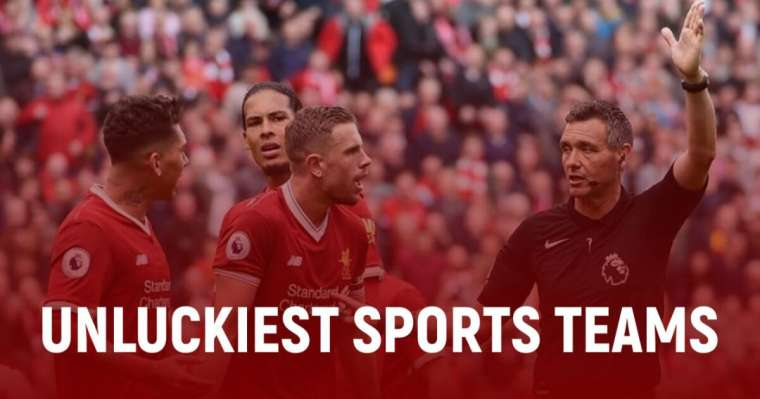 Top 10 Unluckiest Sports Teams Of All Time