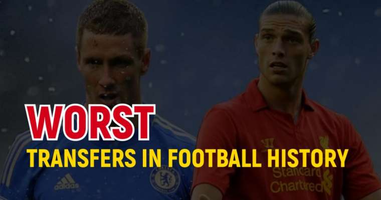 Top 10 Worst Transfers In Football History