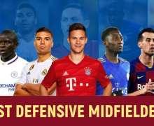 Top 10 Best Defensive Midfielders In Football Right Now