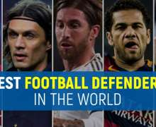 Top 10 Best Football Defenders In The World Right Now