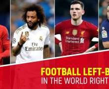 Top 10 Best Football Left-Backs In The World Right Now