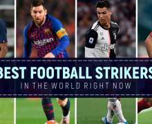 Top 10 Best Football Strikers In The World Right Now