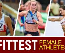 Top 10 Fittest Female Athletes Of All Time
