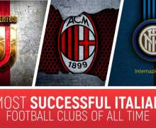 Top 10 Most Successful Italian Football Clubs Of All Time