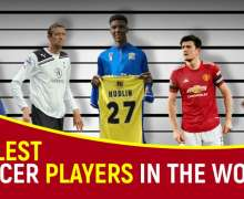 Top 10 Tallest Soccer Players In The World | All-Time Ranking