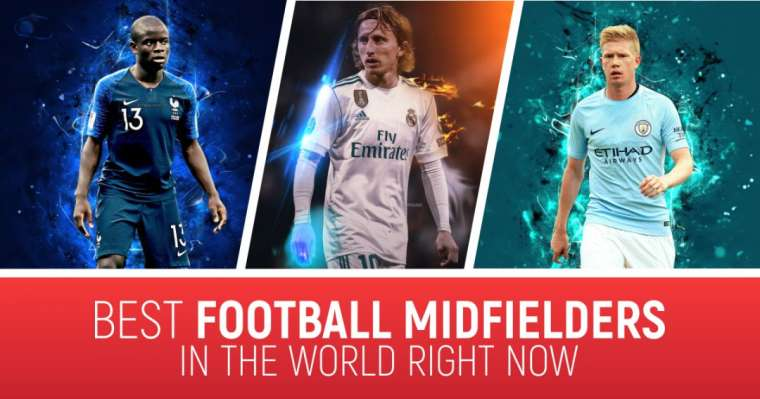 Top 10 Best Football Midfielders In The World Right Now