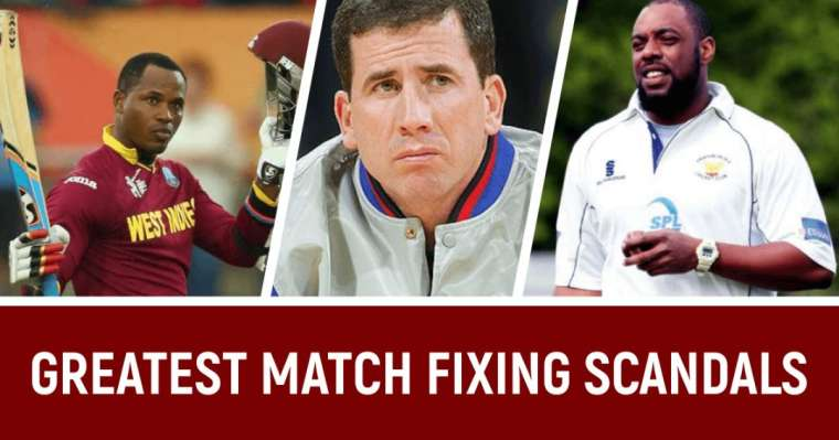 10 Biggest Match Fixing Scandals In Cricket