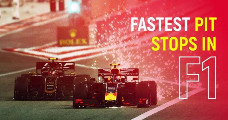Top 10 Fastest Pit Stops In F1 History