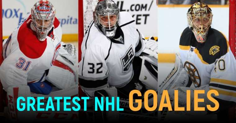 Top 10 Greatest NHL Goalies Of All Time