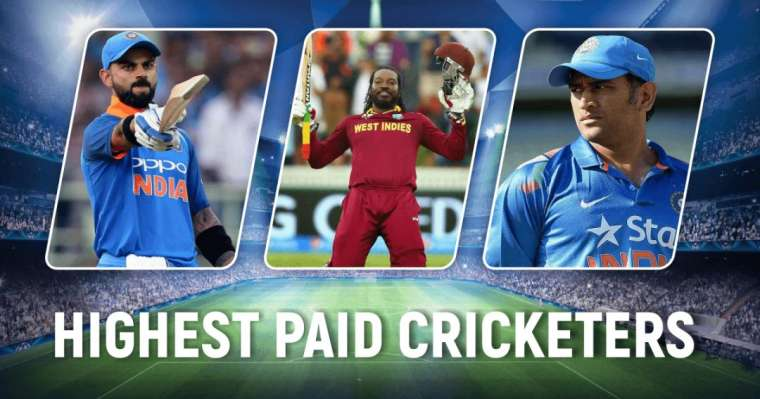 Top 10 Highest Paid Cricketers In The World | 2021 Power Ranking