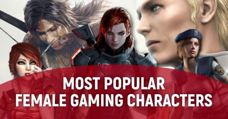 Top 10 Most Popular Female Gaming Characters Of All Time