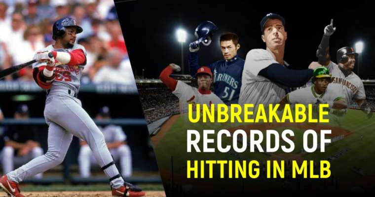 Unbreakable Records of Hitting in Major League Baseball