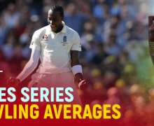 Top 10 Best Ashes Series Bowling Averages   All-Time Stats