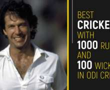 Top 10 Best Cricketers With 1000 Runs And 100 Wickets In ODI Cricket