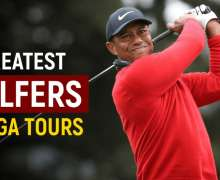 Top 10 Greatest Golfers Of All Time | PGA Legends