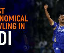 Top 10 Most Economical Bowling In ODI   All-Time Ranking